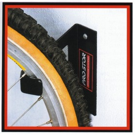 Wall mount Solo Rack II for front wheel mount
