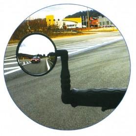 X-Safe Fahrradspiegel Kunststoff Bef. Lenkerende Ø 75mm