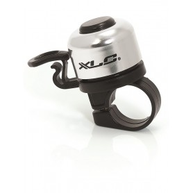 XLC Mini bell DD-M06 clamping Ø 22 2mm silver