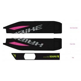 Decor E-Bike SDURO for battery case 2017 black neon green black glossy