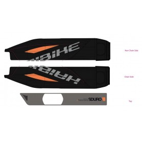 Bosch E-Bike Decor for battery case SDURO HardFour Life 2016 orange grey