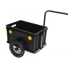 Anhänger Roland Mini-Boy 12 Zoll Hochdeichsel Kunststoff mit Kupplung ohne Deckel