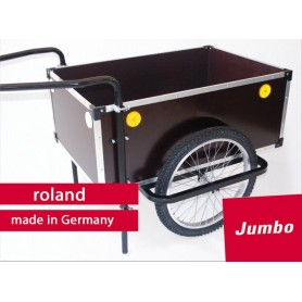 Roland Trailer Jumbo 20 inch double drawbar with stand without cap
