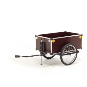Roland Trailer Jumbo 20 inch drawbar with stand Weber coupling without cap