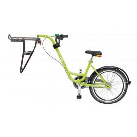 Trailer add + bike by Roland Farbe grün, mit 3-Gang Nabenschaltung