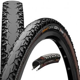 Continental CONTACT Travel bicycle tyre 37-622 Duraskin E-25  foldable black