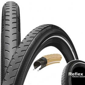Continental RIDE Classic bicycle tyre 37-622 E-25 wired reflective black