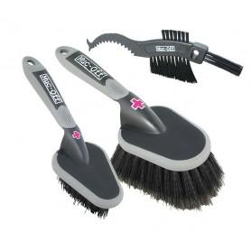 Muc-Off Cleaning brush set Set