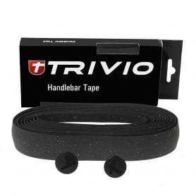 TRIVIO Lenkerband CORK 180x3cm schwarz