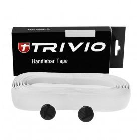 TRIVIO Lenkerband CARBON 180x3cm weiß