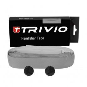 TRIVIO Lenkerband CARBON 180x3cm silber