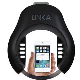 """Automatisches Rahmenschloss """"Linka"""", schwarz, Öffnung über Bluetooth Verbindung"""