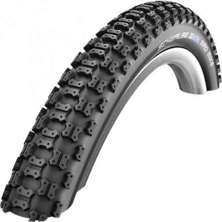 Schwalbe Mad Mike bicycle tyre 16, 18, 20 inch wired black