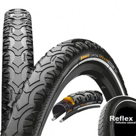 Continental CONTACT Travel Plus bicycle tyre 42-622 E-25 wired reflective black