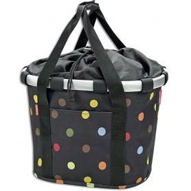 Front-Basket KLICKfix Bikebasket dots