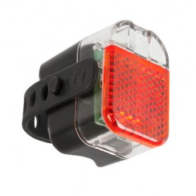 Battery rear light Helios K 1.1 RS black, with certif