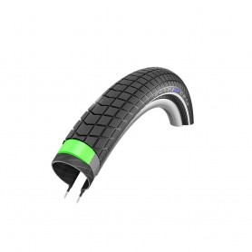 Schwalbe Big Ben Plus bicycle tyre 55-406 GG E-50 SnakeSkin wired reflective