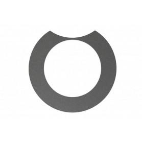 Abdeckring, Platin, für Design-Deckel Active, links