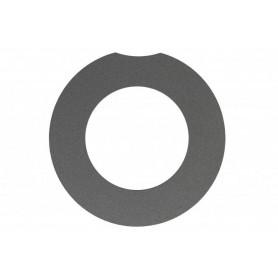 Abdeckring, Platin, für Design-Deckel Active, rechts
