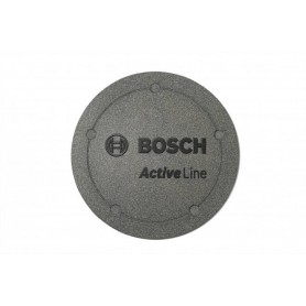 Logo-Deckel Active, Platinum