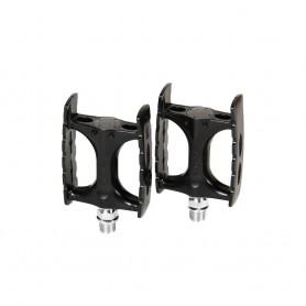 MKS Pedale CT-Lite Trekking-Pedal Konuslager ohne Reflektoren silber