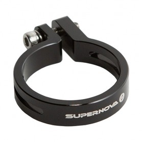 SUPERNOVA Seat Post Clamp Ø 27,2 schwarz für E3 Tail Lights