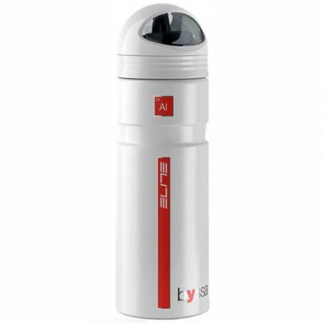 Elite Alu Trinkflasche Fahrrad-Trinkflasche Byssa 750 ml