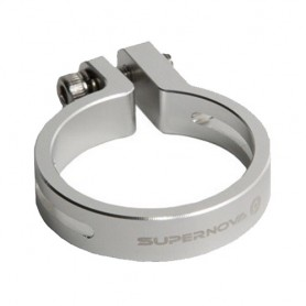 SUPERNOVA Seatpost Clamp Ø 31,6 silver for E3 Taillights