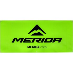 Merida Event banner Brand Edition 75 x 170cm green
