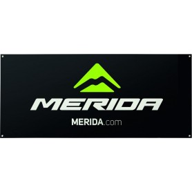 Merida Event banner Brand Edition 75 x 150cm black