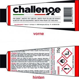Challenge Tubular Tyre Glue Tube 25g - 12 Tubes
