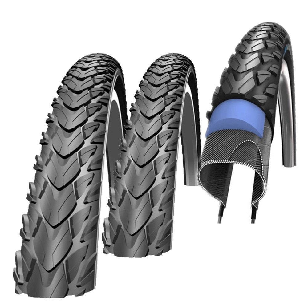 Neumáticos de bicicleta Schwalbe Marathon Plus 26x1-5//8 42-590 ungeknickter envío