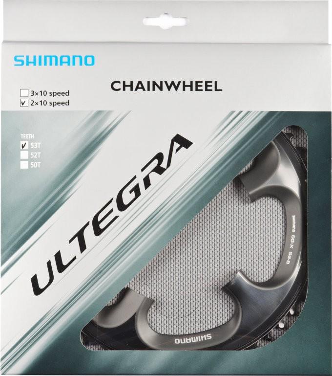Shimano Chainring ULTEGRA FC-6700, 53 teeth, 130 mm, gris