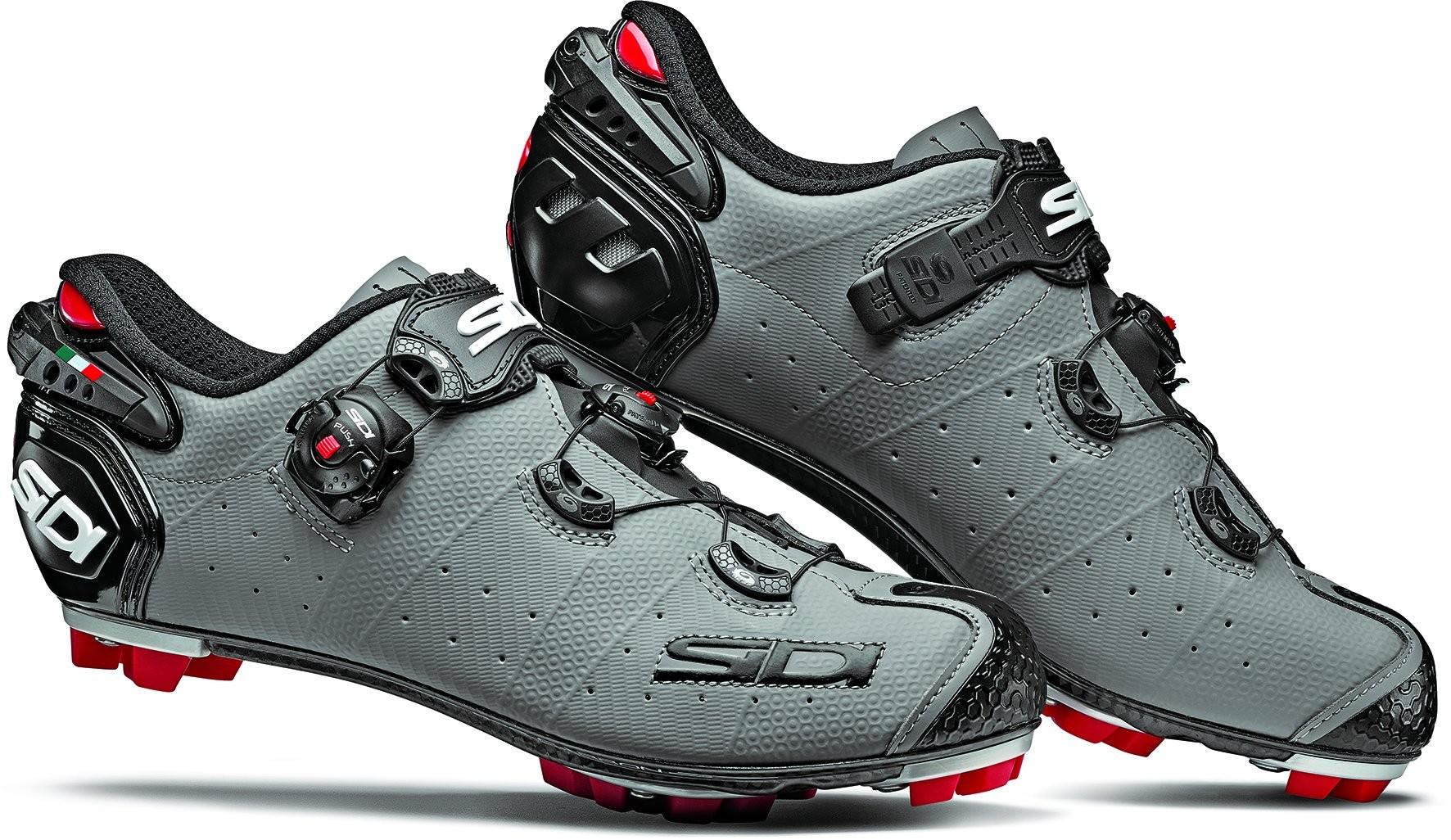 Zapatos de Bicicleta SIDI MTB Drako 2 Srs Talla 45 Negro Mate gris